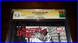 2x Signed CGC SS 9.6 Amazing Spider-Man 640 Stan Lee & Quesada Sketch Variant