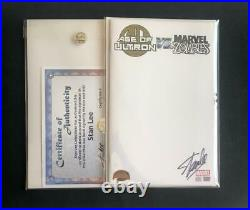 AGE OF ULTRON VS MARVEL ZOMBIES #1 BLANK SIGNED STAN LEE WithCOA VARIANT SKETCH