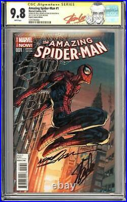 AMAZING SPIDER-MAN #1 CGC 9.8 SS SIGNED By STAN LEE & Neal Adams VARIANT Marvel