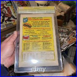AMAZING SPIDER-MAN #1 CGC SS 7.5 SIGNED STAN LEE GOLDEN RECORD VARIANT Marvel