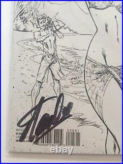 AMAZING SPIDER-MAN #5 SIGNED STAN LEE SS w COA CAMPBELL BEACH VARIANT SKETCH