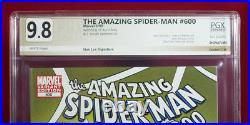 AMAZING SPIDER-MAN #600 Romita Var PGX 9.8 NM/MT Near Mint signed STAN LEE +CGC