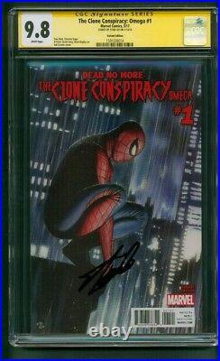Amazing Spider Man 1 CGC SS 9.8 Stan Lee Sign Adi Granov Clone Conspracy Variant