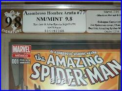 Amazing Spider-Man #1 Mexico Variant PGX 9.8 SS Signed Stan Lee #678 Homage