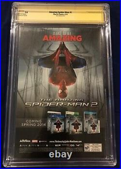 Amazing Spider-Man 1 Ross 175 Variant CGC SS 9.8 Signed & Nuff Said by Stan Lee