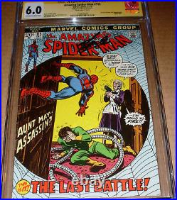 Amazing Spider-Man #115 CGC SS SIGNED Stan Lee Marvel Mark Jeweler Variant