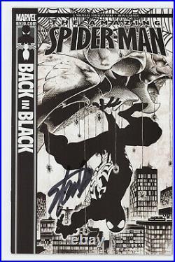 Amazing Spider-Man 539 Marvel Stan Lee Signed Las Vegas Angel Medina Variant