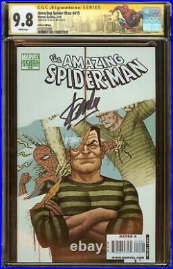 Amazing Spider-Man #615 CGC 9.8 Signed Stan Lee, Variant Edition 2010