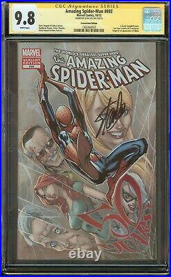 Amazing Spider-Man #692 CGC 9.8 Signed Stan Lee, 1st app. Of Alpha Variant
