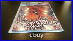 Amazing Spider-Man #700 Incentive Quesada Variant SIGNED by STAN LEE