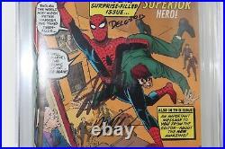 Amazing Spider-Man #700 Variant CGC 9.6 SS Signed (3X) Stan Lee Humberto Ramos