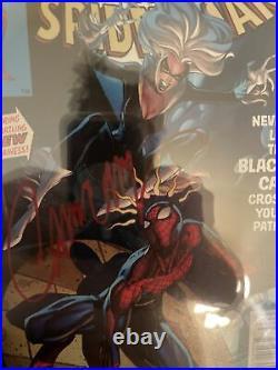 Amazing Spider-Man #8 Stan Lee Variant SS CGC 9.4 Sign J Scott Campbell BlackCat
