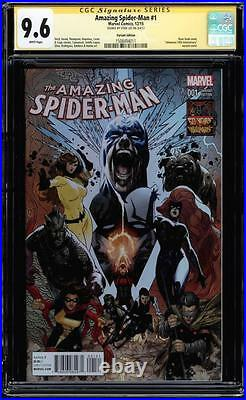 Amazing Spider-man #1 Cgc 9.6 Ss Stan Lee Signed Variant Edition #1508494011