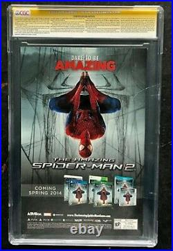 Amazing Spiderman #1J CGC 9.8 Signed by STAN LEE Alex Ross Variant