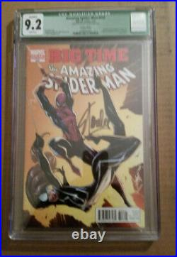 Amazing Spiderman 648 Cgc 9.2 Campbell Cover 1200 Color Variant Signed Stan Lee