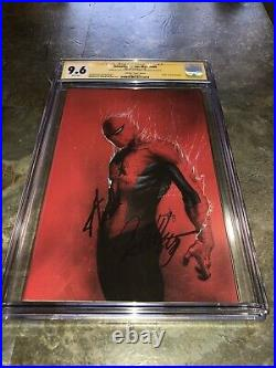 Amazing Spiderman 800 DellOtto Variant Signed By Stan Lee And Dell Otto