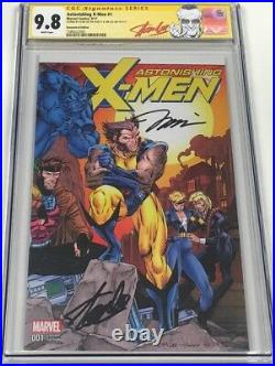 Astonishing X-men #1 Signed Stan Lee & Jim Lee CGC SS 11000 Remastered Variant