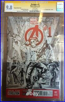 Avengers #1 Deadpool Gangnam Style Variant CGC SS 9.8 Signed Stan Lee