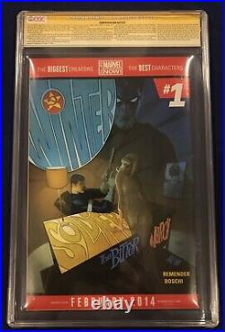 Avengers #25 75 Years Sketch Variant 1200 CGC 9.8 Signed Stan Lee & Alex Ross