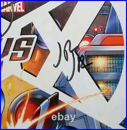 Avengers vs. X-Men #1 Variant Comic 2012 Signed by Stan Lee & John Romita Jr