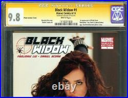 Black Widow #1 CGC 9.8 SIGNED STAN LEE Photo Variant Cover SUPER RARE MCU