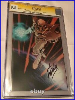 Boom Studios Soldier Zero #1 Andrasofszky Variant CGC 9.8 SS Signed by Stan Lee