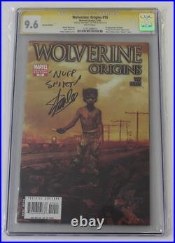 CGC Graded 9.6 Wolverine Origins No. 10, Variant 2007, Signed, Remarked Stan Lee