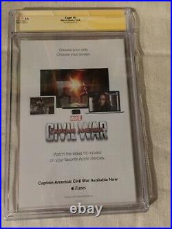 Cage! #1 SS CGC 9.2 Signed By Stan Lee Mike Colter S Missick Joe Quesada Variant