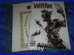 DARK WOLVERINE #79 Signed Stan Lee withCOAFrancesco Mattina Variant ZOMBIE Cover