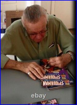 DARTH VADER #1 Signed Comic Stan Lee withCOA Marvel Star Wars VARIANT