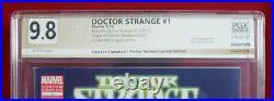 DOCTOR STRANGE #1 PGX 9.8 NM/MT Near MInt Beards Variant signed STAN LEE! +CGC