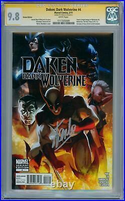 Daken Dark Wolverine #4 Variant Cgc 9.8 Signature Series Signed Stan Lee