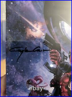 Deadpool 42 CGC 9.8 La Mole Variant Edition Signed Stan Lee / Clayton Crain L@@K
