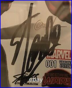 Deadpool's Secret Secret Wars 1 Color Variant CGC 9.8 Signed-Stan Lee on 11/4/18