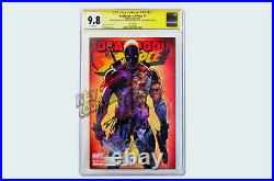 Deadpool vs X-Force #1 Campbell Variant SIGNED CGC 9.8 ROB STAN LEE CAMPBELL
