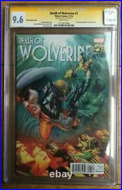 Death of Wolverine #1 175 Alex Ross Variant CGC SS 9.6 Signed by Stan Lee
