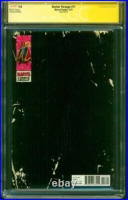 Doctor Strange 17 CGC 9.8 2XSS Stan Lee Gold Signed Jusko Corner Box Variant