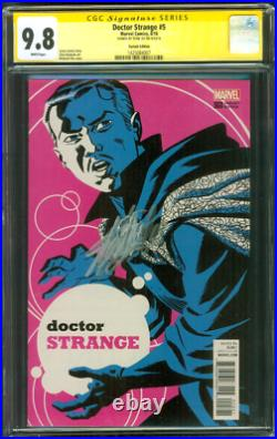 Doctor Strange 5 CGC 9.8 SS Stan Lee Signed Exclusive Michael Cho Variant 2016