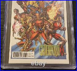 Generation X CGC 9.8 SS 11000 Signed STAN LEE LABEL Remastered X-Men Variant