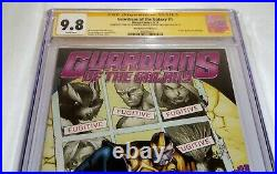 Guardians of the Galaxy #1 CGC SS Signed Autograph 9.8 STAN LEE Phantom Variant