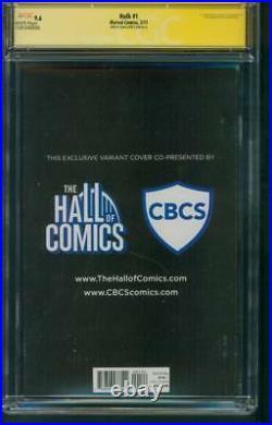 Hulk 1 CGC 2XSS 9.6 Stan Lee Signed 181 Homage McGuinness X 23 Wolverine Variant