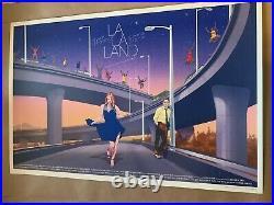 La La Land Variant By Stan & Vince 24x36 Print Mondo 75/250 Sold Out Ed. Ding