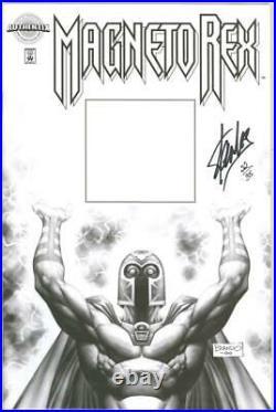 Magneto Rex #1 Authentix Variant Df Dynamic Forces Signed Stan Lee Coa 22 X-men