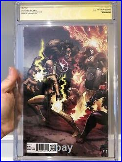 Marvel Legacy #1 Deodato Color 1500 Variant CGC SS 9.8 Signed Stan Lee L@@K