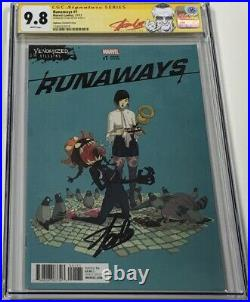 Marvel Runaways #1 Venomized Variant Signed by Stan Lee CGC 9.8 SS Red Label