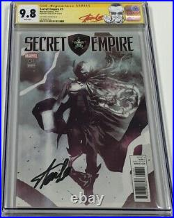 Marvel Secret Empire #3 Sorrentino Variant Signed Stan Lee CGC 9.8 SS Red Label
