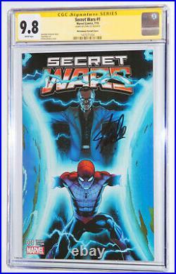 Marvel Secret Wars #1 Mcguinness Color Variant Cgc 9.8 Ss, Signed By Stan Lee Wp