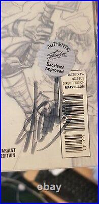 Marvel Stan Lee Signed Thor # 1 1300 Alex Ross Variant