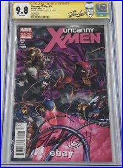Marvel Uncanny X-Men #5 150 Venom Variant Signed Stan Lee Greg Horn CGC 9.8 SS