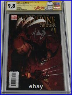 Marvel Wolverine Origins #1 Variant Signed by Stan Lee & Turner CGC 9.8 SS Rare